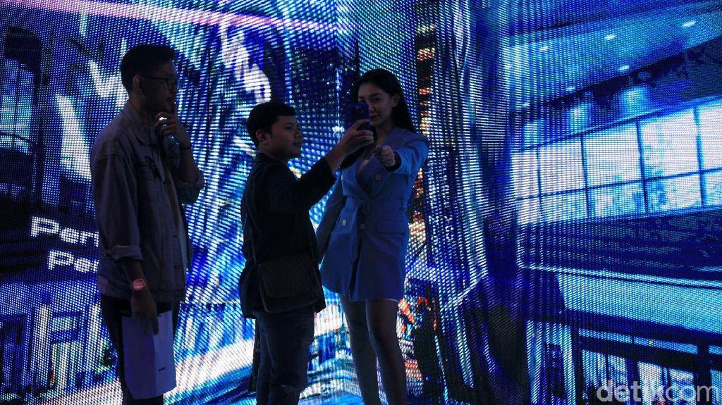 Photobooth vivo V19 yang Megah Jadi Sasaran Selfie
