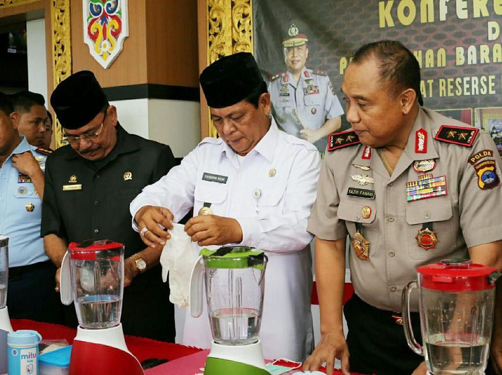 Dikendalikan dari LP, Penyelundupan 22 Kg Sabu dari Malaysia Digagalkan