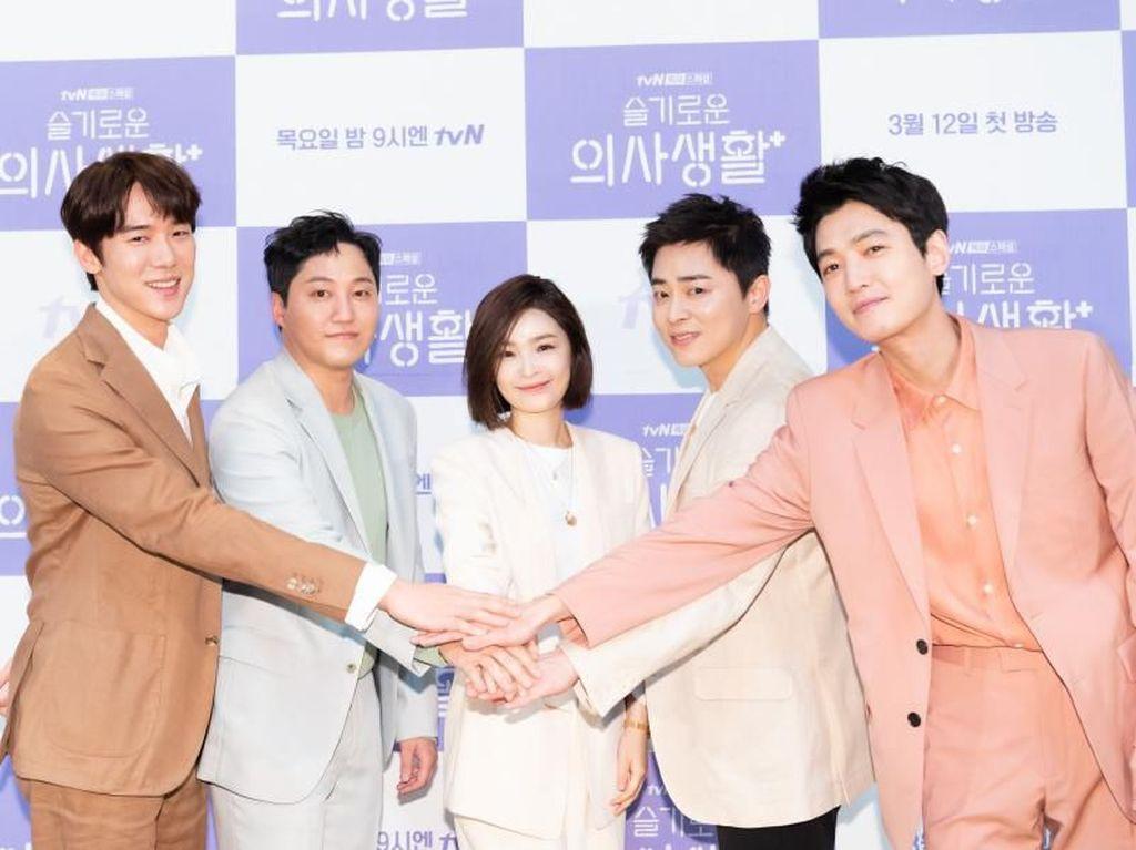 Rekomendasi Drama dan Film Jo Jung Suk Buat yang Suka Hospital Playlist