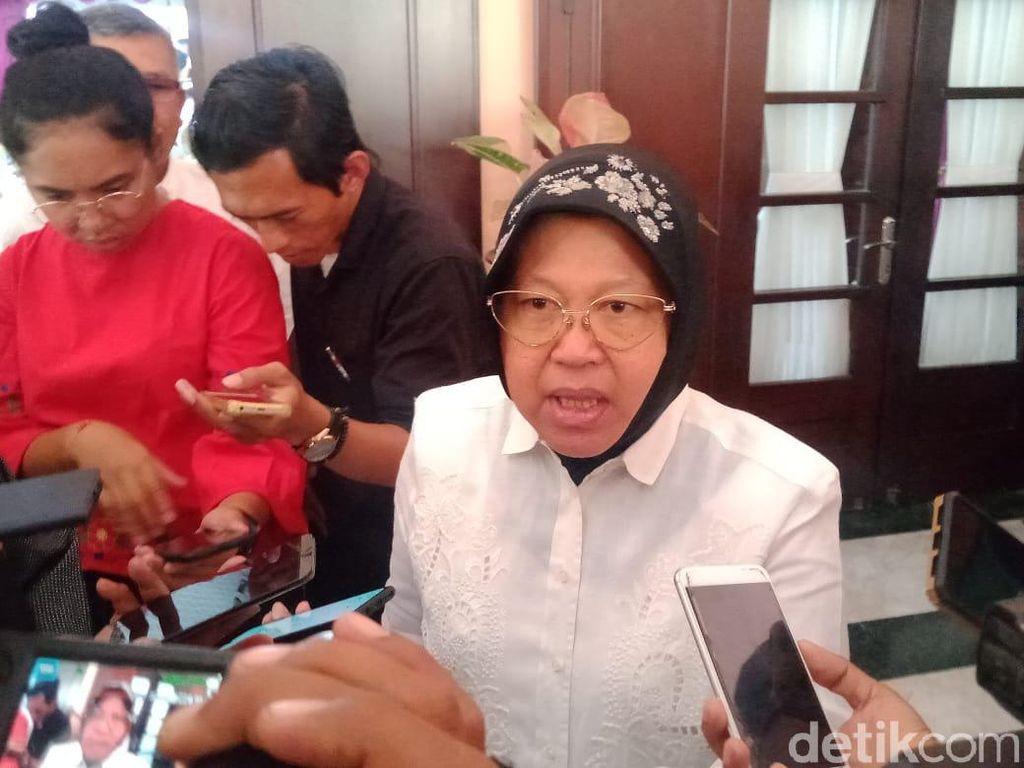 Risma Kembali Tolak Kapal Pesiar Sandar di Surabaya