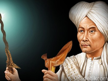 Kisah Diponegoro Dikubur Bersama Kerisnya