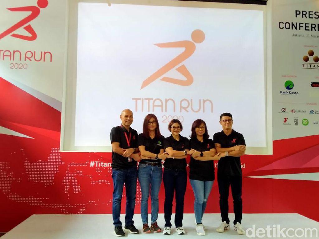 Ada Virus Corona, Lomba Lari Titan Run 2020 Tetap Berjalan
