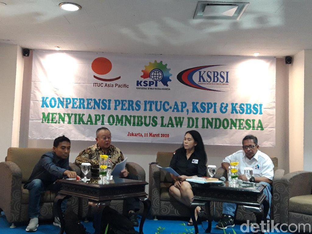 KSPI Hingga ITUC-AP Desak Pemerintah Cabut Draf Omnibus Law RUU Ciptaker