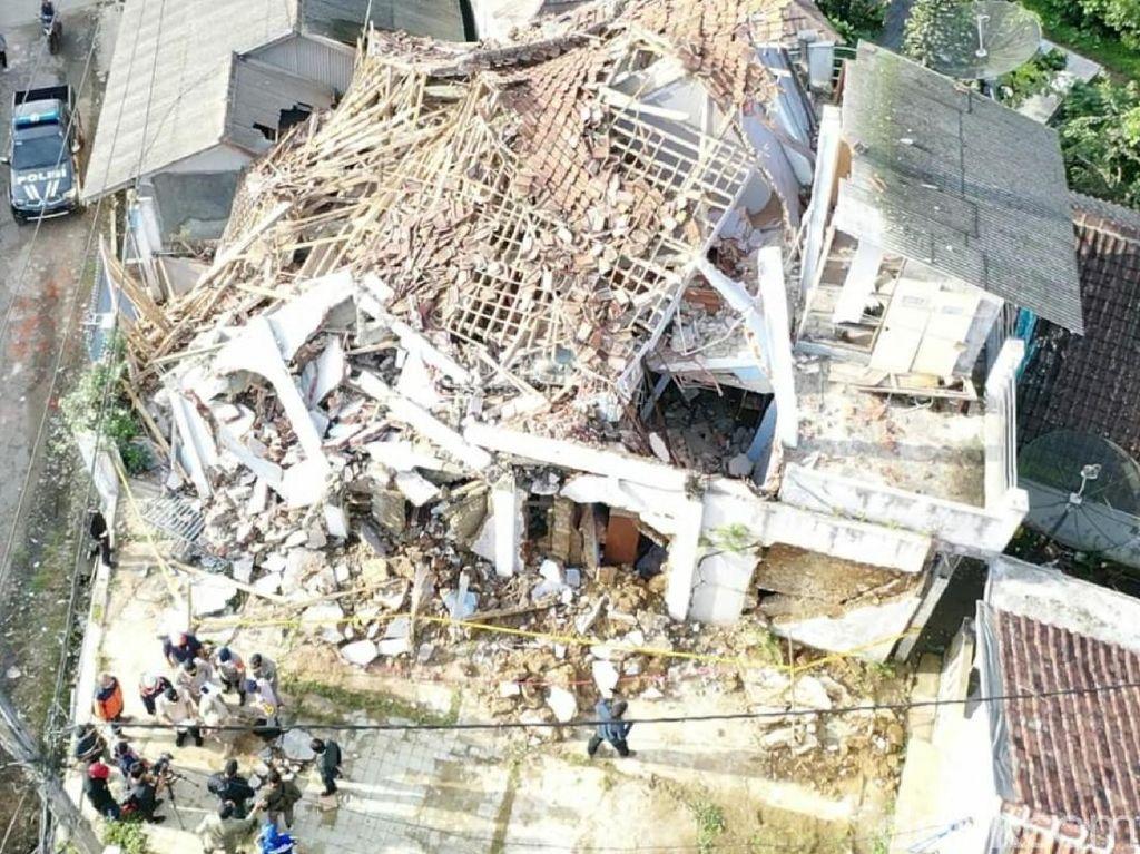 280 Rumah Rusak dan 314 Warga Mengungsi Dampak Gempa di Sukabumi