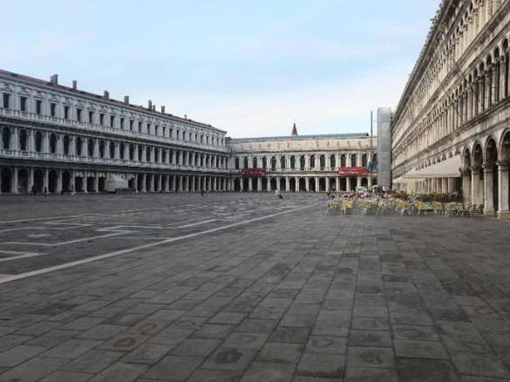 Sepinya Italia Saat Lockdown Bak Kota Mati