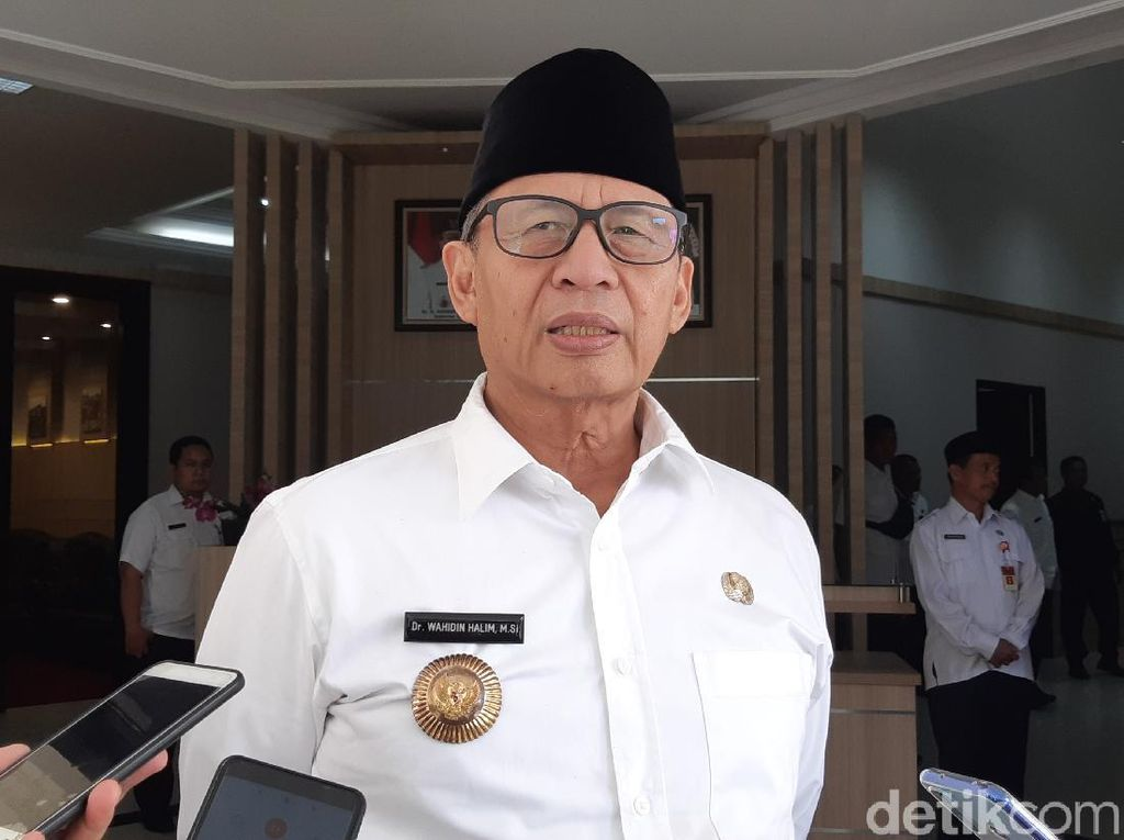 Pergub Banten soal PSBB Tunggu Pendapat Pemkab-Pemkot Tangerang