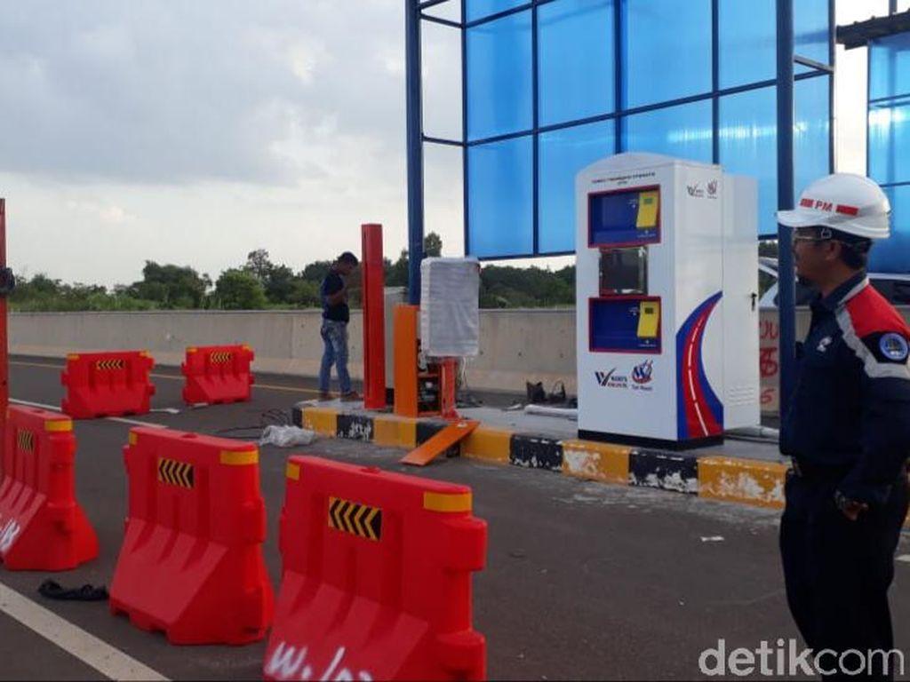 20 Tiang Pagar Tol Palembang-Kayu Agung Dicuri, 1 Pelaku Ditangkap