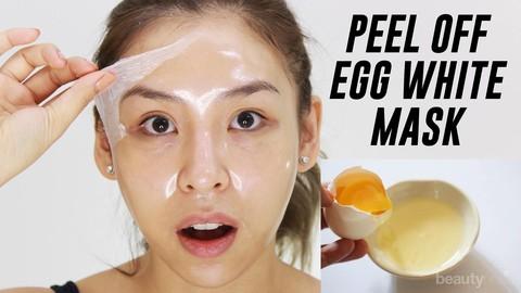 Jerawat Hilang Dengan Masker Putih Telur Dan Lemon