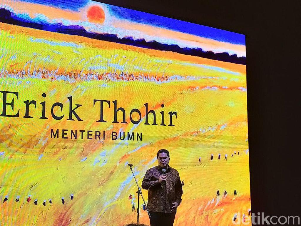 Erick Thohir Buka Pameran Tunggal Srihadi Soedarsono