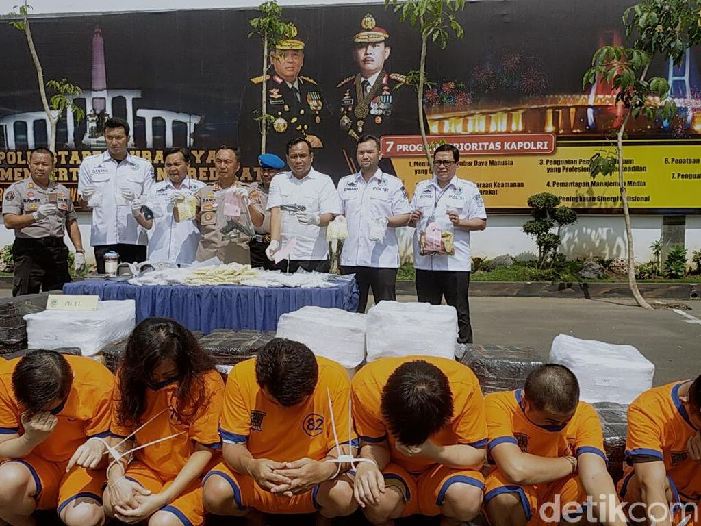 Video Polrestabes Surabaya Sita 7 Juta Pil Koplo di Jatim
