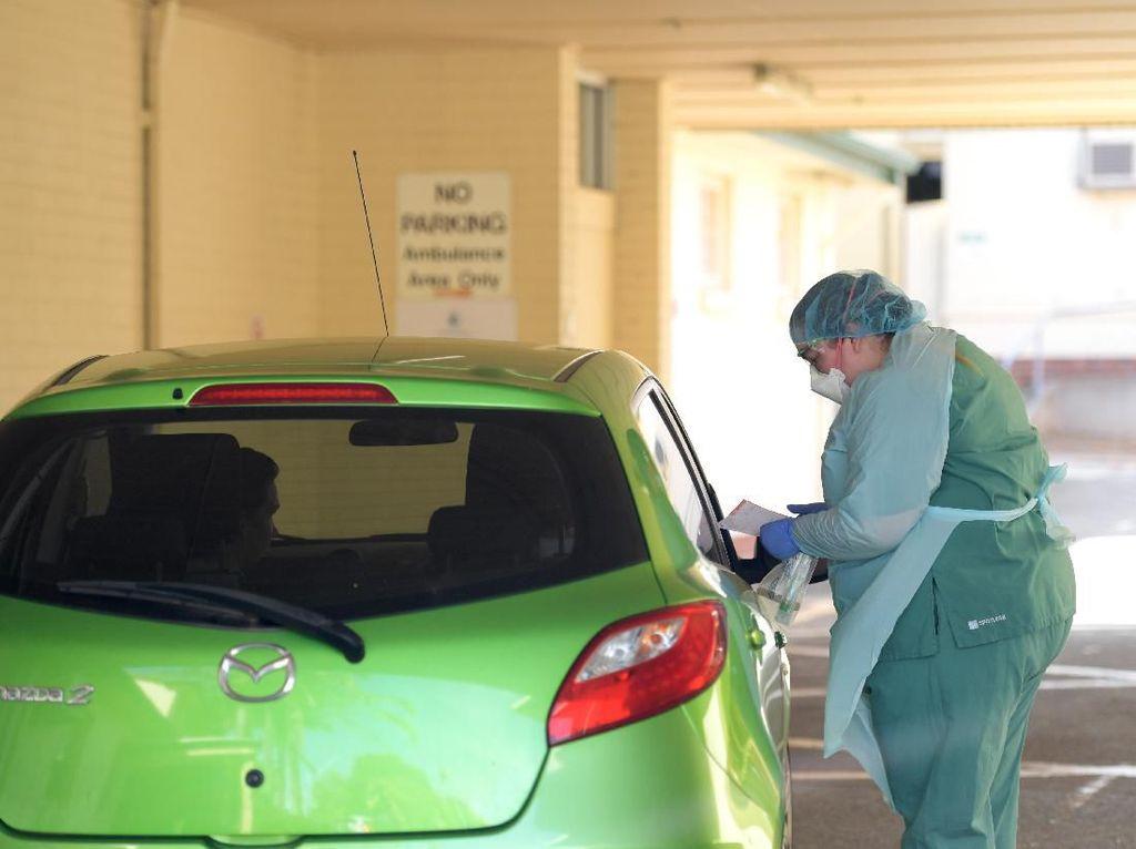 Selain Korsel, Pemeriksaan Corona di Australia Juga Via Drive-Thru