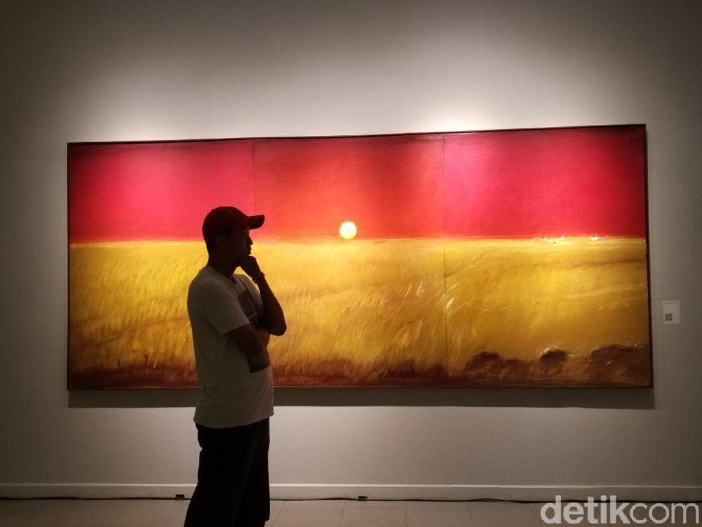 44 Lukisan Maestro Srihadi Soedarsono Mejeng di Pameran Man x Universe