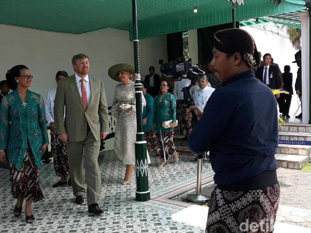 Tiba di Keraton Yogyakarta, Raja dan Ratu Belanda Disambut Sultan HB X