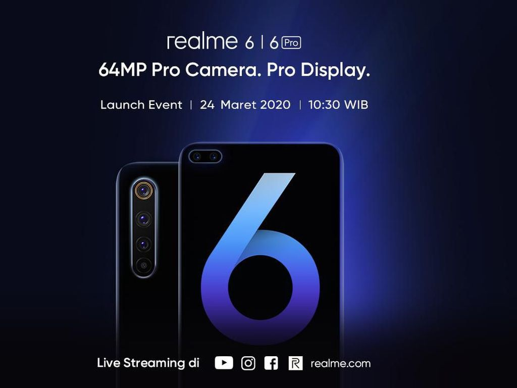 Pertama di Dunia! Realme 6 Pro Ditenagai Snapdragon 720G