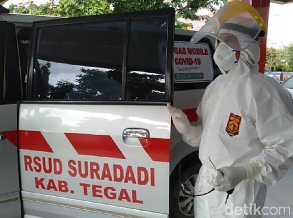 Demam Usai Pulang dari Korsel, Seorang TKI Diisolasi di RSUD Tegal
