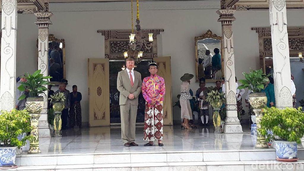 Raja Belanda Bertemu Sultan Hamengku Buwono