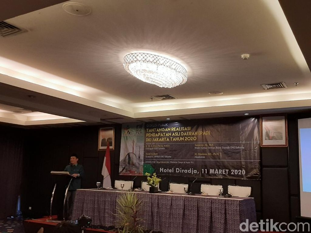 Hadir di Acara PKB DKI, Riza Patria Disapa Wagub