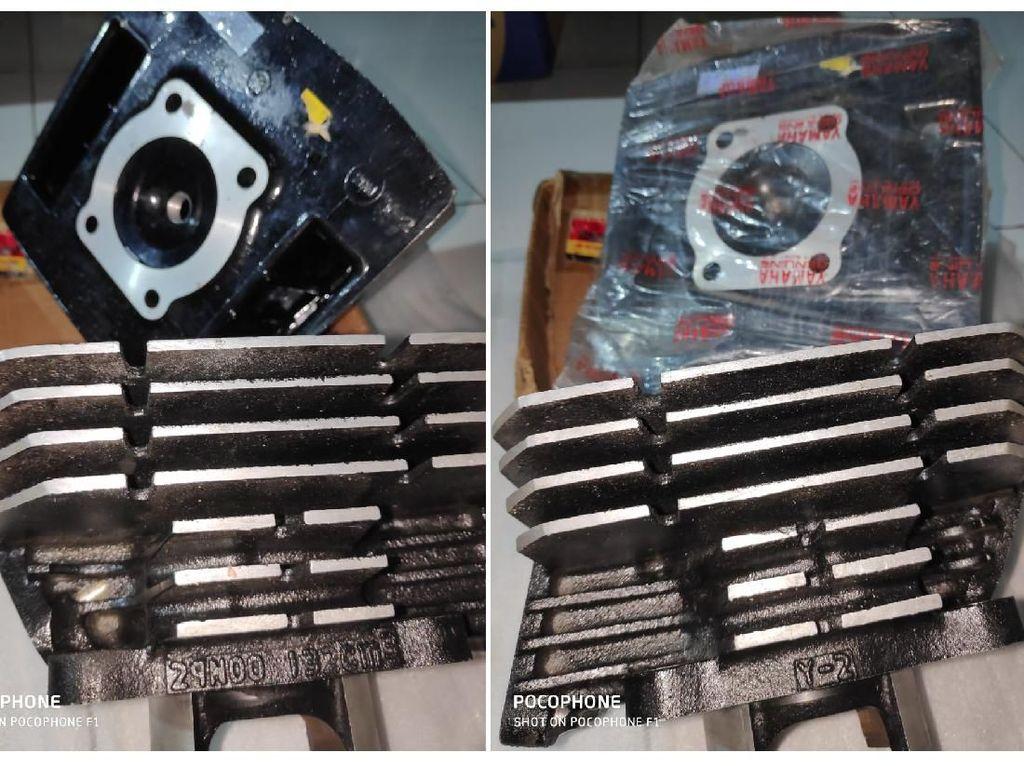 Bukan Kaleng-kaleng, Blok Mesin RX-King Ini Laku Rp 30 Juta!