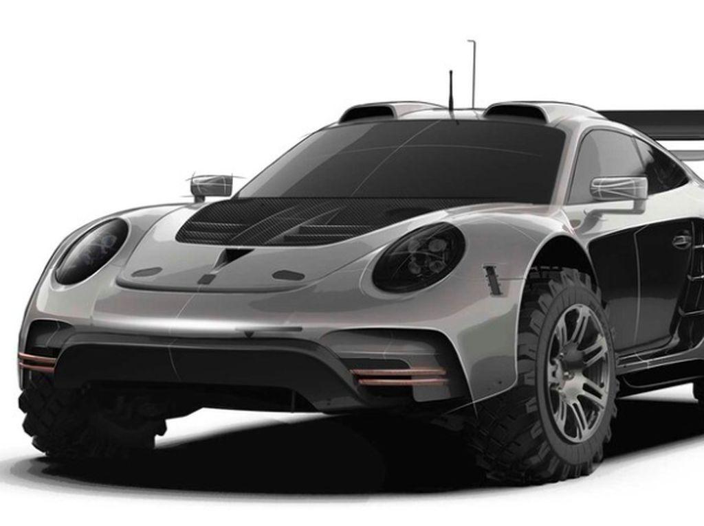 Gahar, Ini Tampang Modifikasi Porsche 911 saat Jadi Mobil Offroad 4x4
