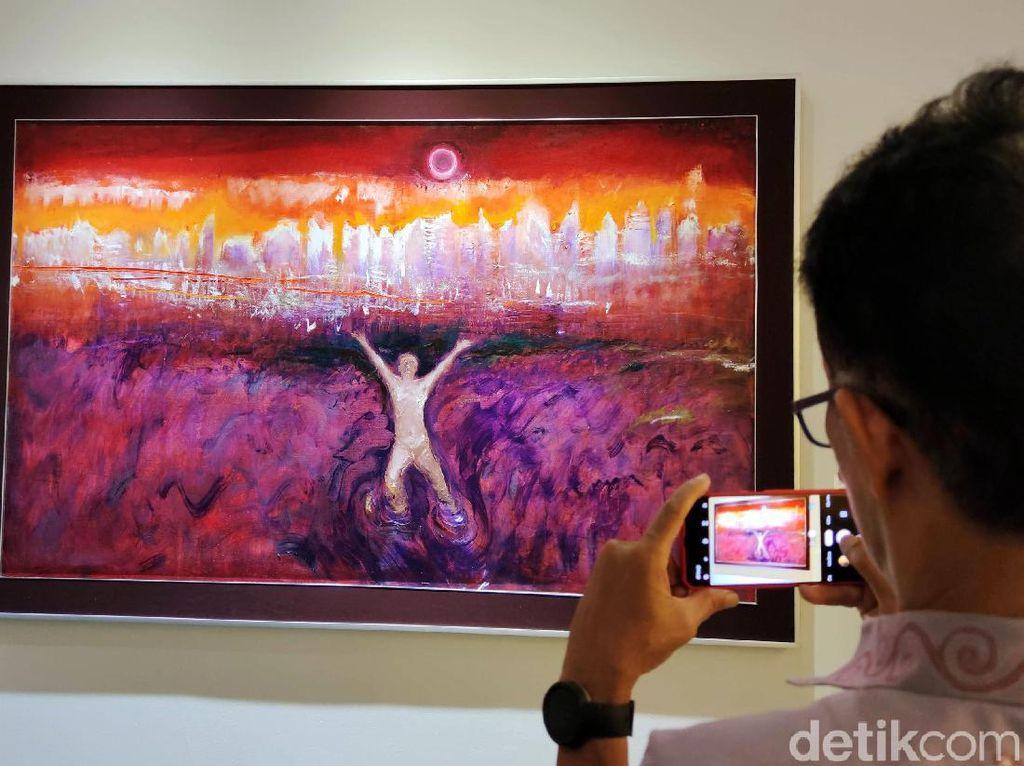 Pameran Tunggal Srihadi Tutup Sementara, GNI Tetap Pajang Lukisan via Online