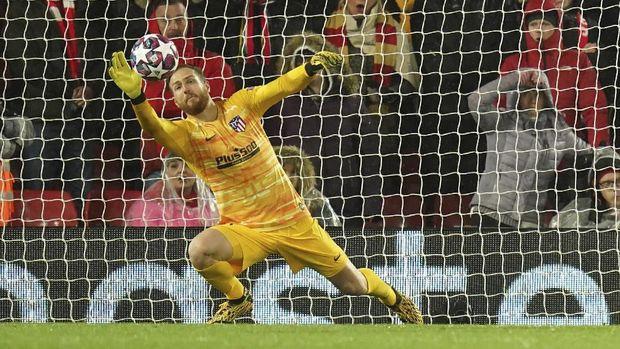 Jan Oblak menjadi salah satu penentu kemenangan Atletico atas Liverpool.
