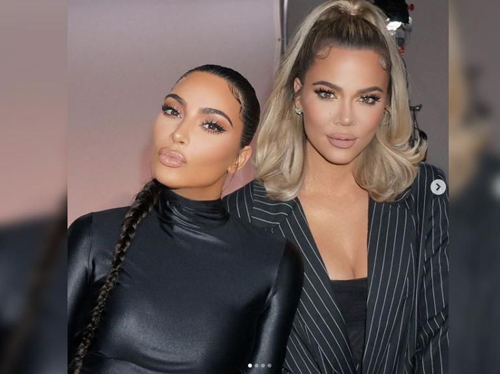 Lagi Pisah Ranjang dengan Kanye, Kim Kardashian Dapat Kado Spesial dari Khloe