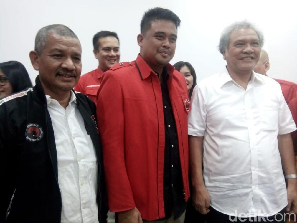 Ingin Ikuti Jejak Jokowi, Bobby Nasution Daftar Jadi Kader PDIP