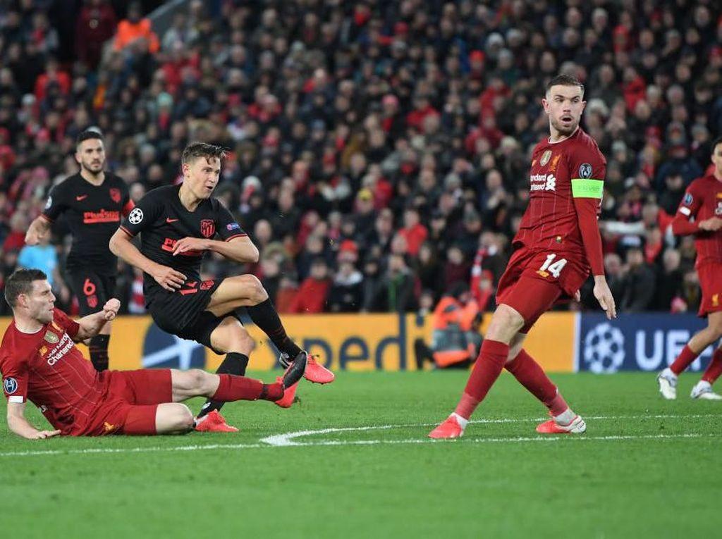 Liverpool Vs Atletico: Los Rojiblancos Singkirkan Si Merah