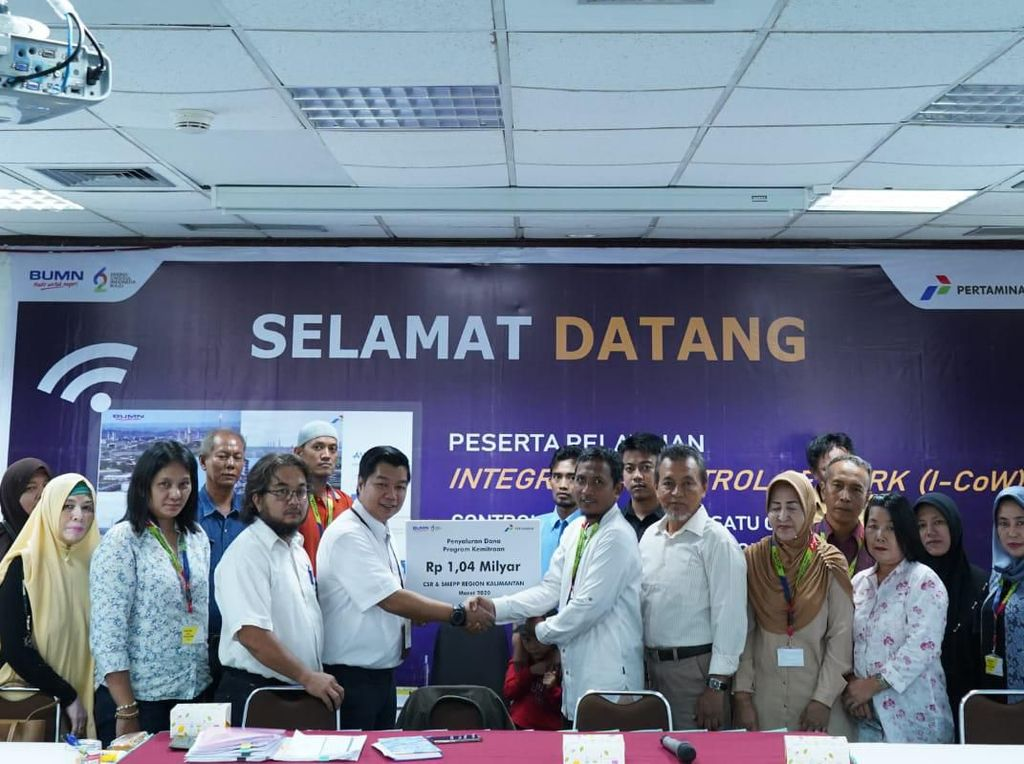 Pertamina Suntik Modal untuk 19 Mitra UKM di Kalimantan Rp 1,04 M