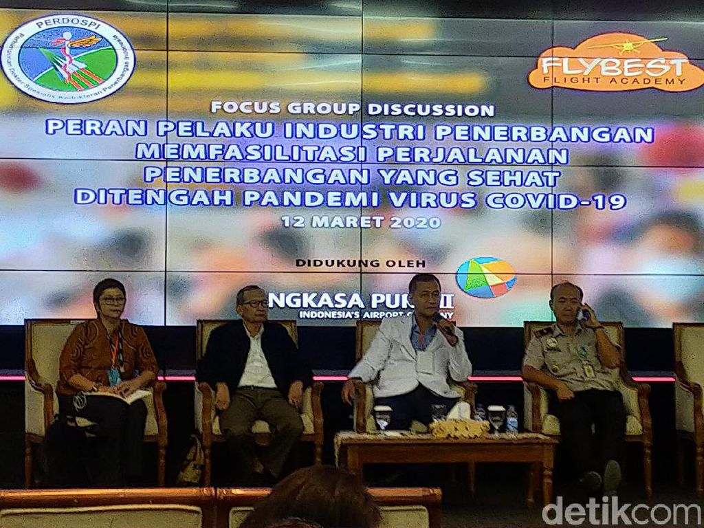 Corona Mewabah, Bandara Soekarno Hatta Terapkan: If You Are Sick, Dont Fly