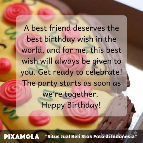 10 Ucapan Ulang Tahun Terbaik Untuk Sahabat