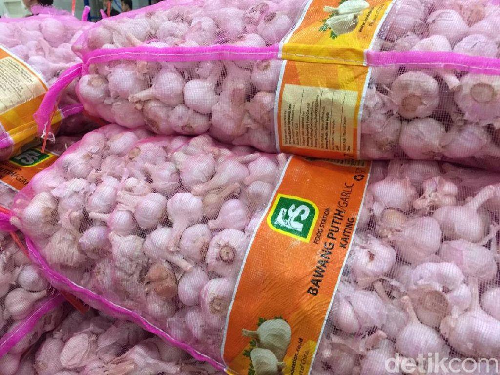 Puluhan Ribu Ton Bawang dan Gula Impor Guyur RI Demi Tekan Harga