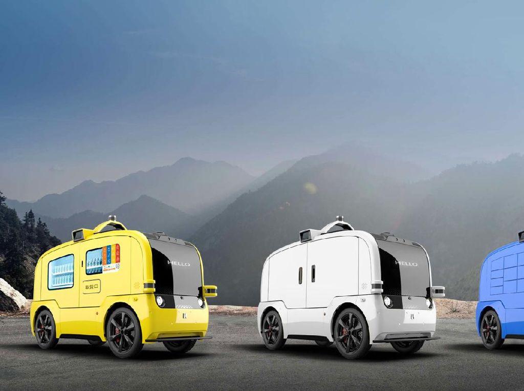 Cegah Corona, Mobil Otonom Dimanfaatkan untuk Kirim Logistik