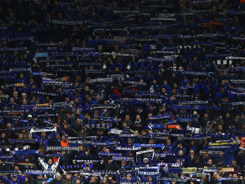 Peluk dan Cium 40 Ribu Fans Atalanta yang Jadi Bencana