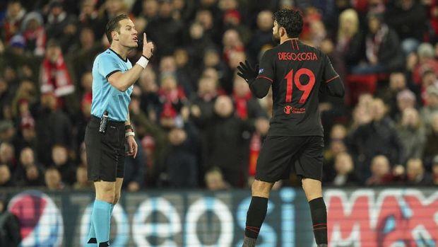 Atletico sempat tertinggal 0-2 di laga lawan Liverpool.