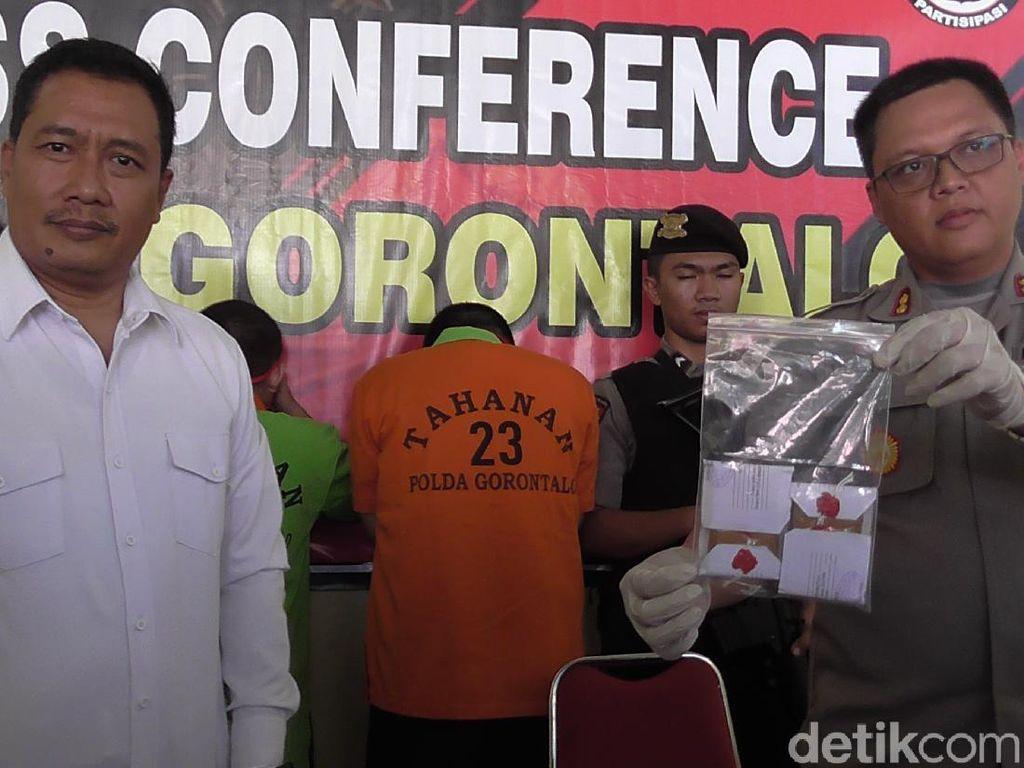 Perdana Tangani Kasus Tembakau Gorila, Polda Gorontalo Tangkap 2 Mahasiswa