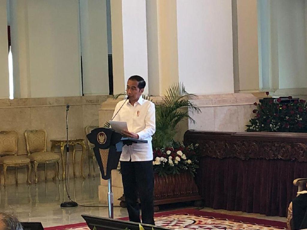 GP Ansor Bertemu Jokowi, Lapor Konbes Diundur Imbas Corona