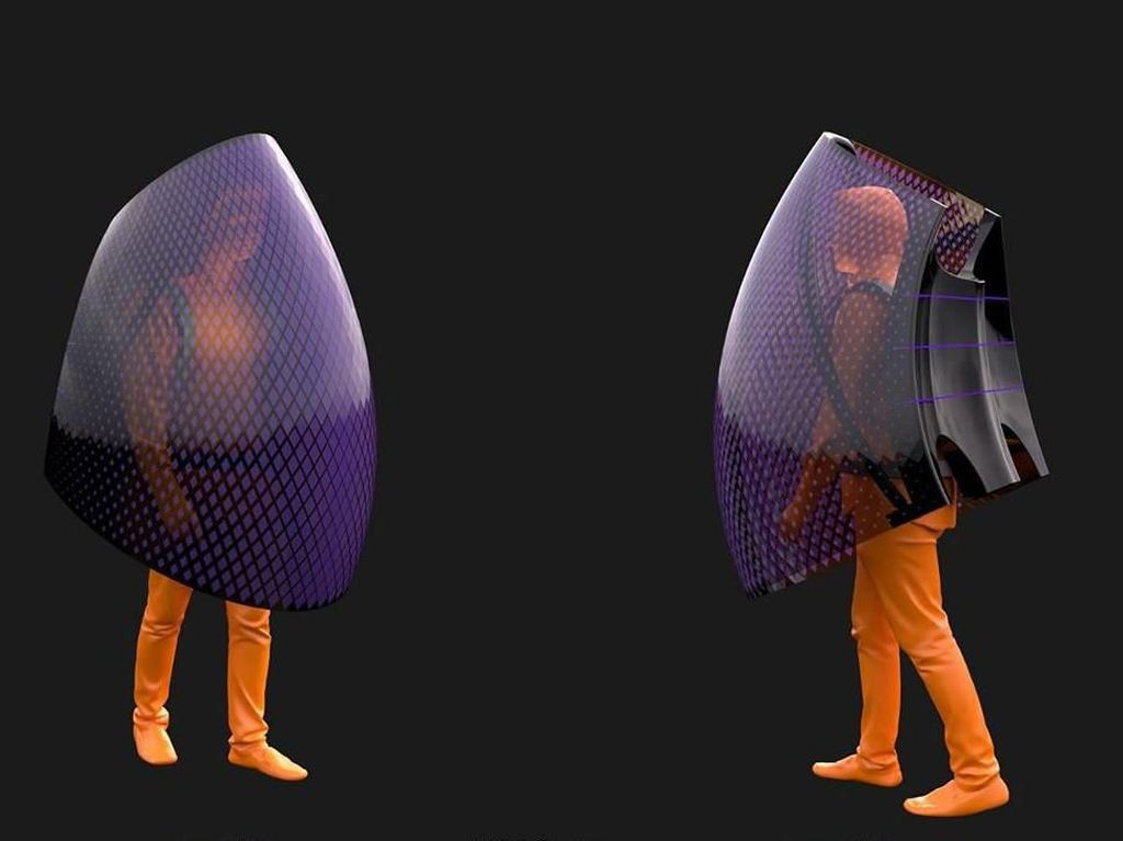 Desainer China Bikin Baju Anti Virus Corona