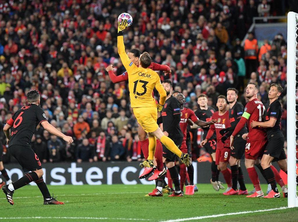 10 Data dan Fakta Kemenangan Atletico Atas Liverpool