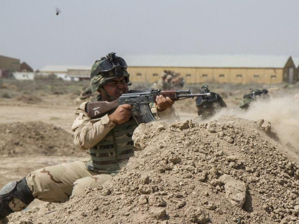 Pangkalan Militer AS-Inggris di Irak Dihantam Roket, 3 Orang Tewas