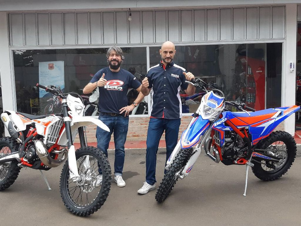 Selain Komentari MotoGP, Matteo Jual Motor yang Haram Dibawa ke Pasar