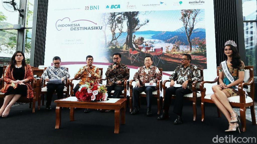 Indonesia Destinasiku Hadang Corona Lewat Sektor Pariwisata