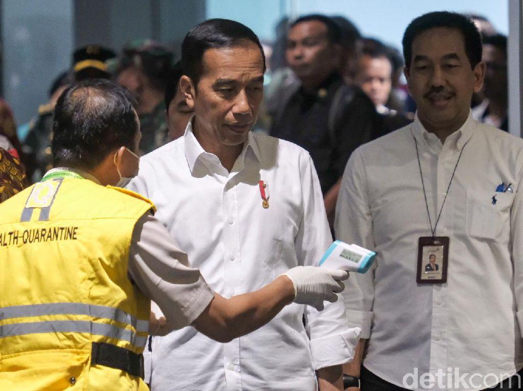 Update! Penjelasan Jokowi dari Pasien Corona Meninggal-Belum Pikir Lockdown