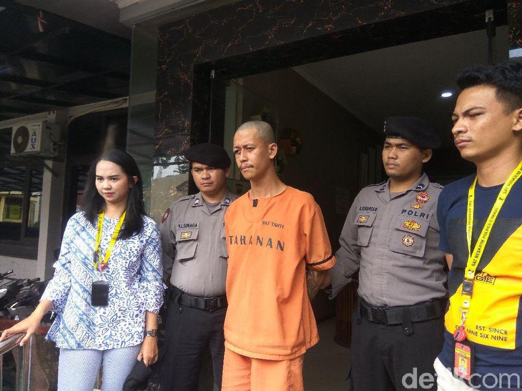 Polisi Tahan Pedagang Cilok yang Cabuli-Perkosa Anak Kandung