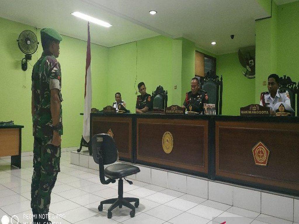 Jual Amunisi ke Separatis, Total 2 Prajurit TNI yang Dipenjara Seumur Hidup