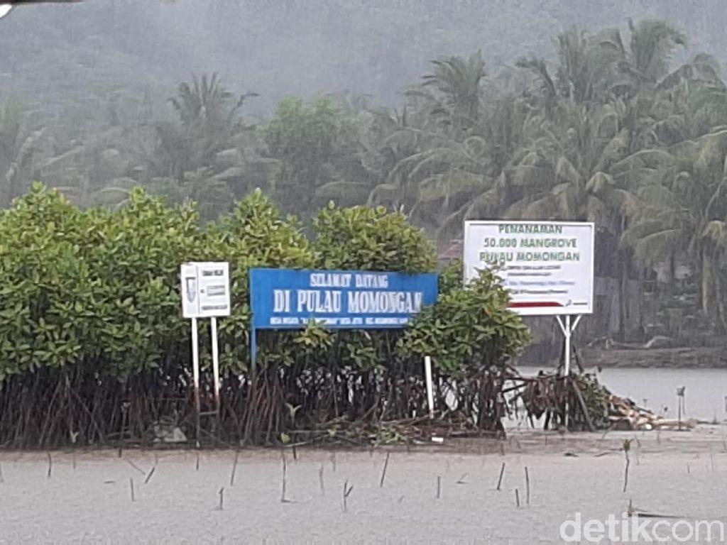 Tentang Pulau Kecil Tempat Tanam Jimat di Tengah Sungai yang Jadi Rebutan