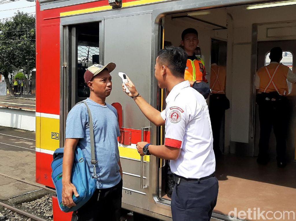 Yuk, Lihat Ragam Cara Pencegahan Virus Corona di Stasiun Bogor