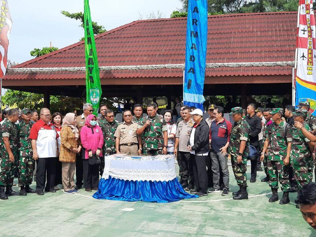 Baksos di Pulau Seribu, TNI Terima Kasih Warga Beri Tempat Observasi Corona