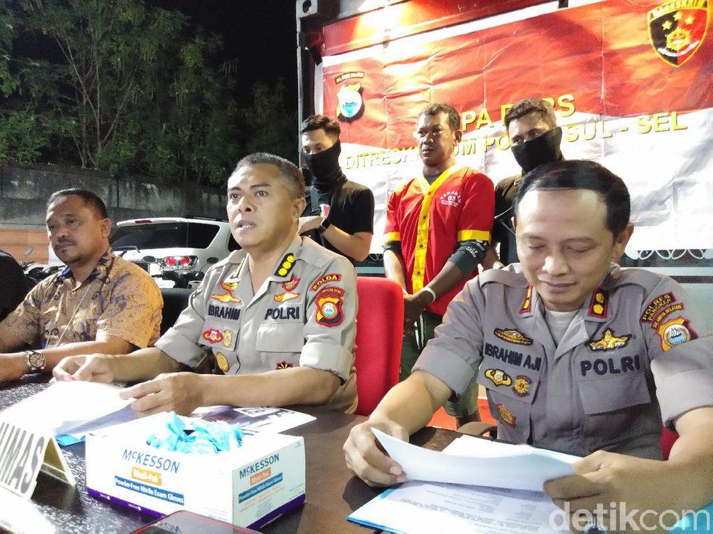 Polisi: Amiruddin Sempat Bersetubuh Sebelum Bunuh Pacarnya Pakai Badik