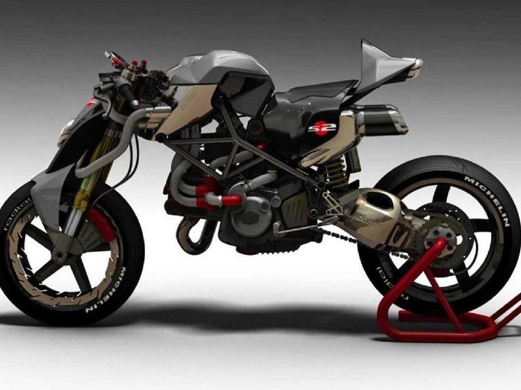 Modifikasi Ducati Monster Alien